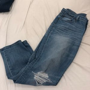 J.Crew boyfriend jeans
